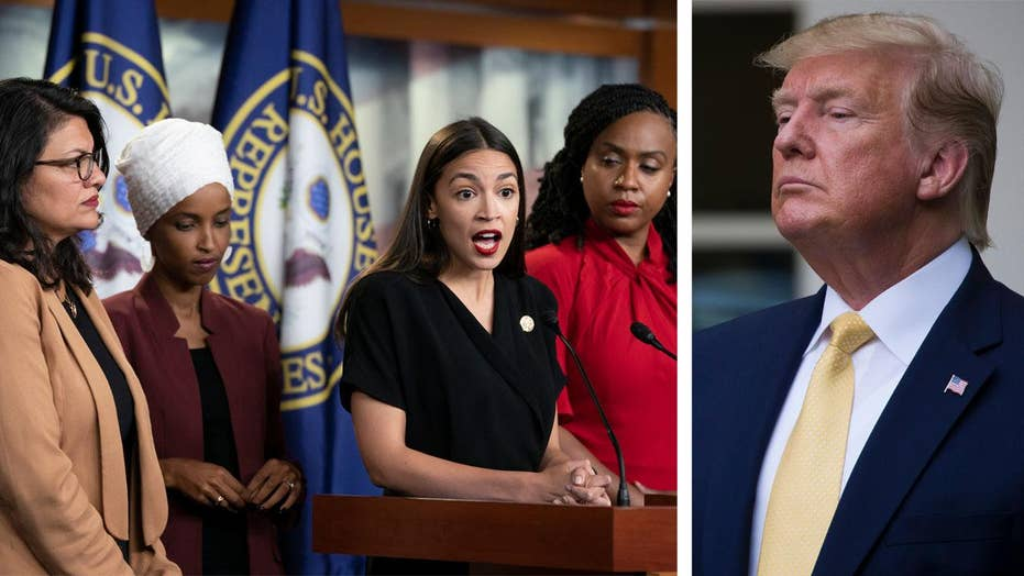 House votes to condemn Trump remarks made toward four congresswomen