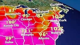 Heatwave across US could see feels-like temps reach triple digits this weekend, NWS warns