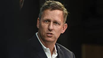 Peter Thiel accuses Google of working with China, not US military