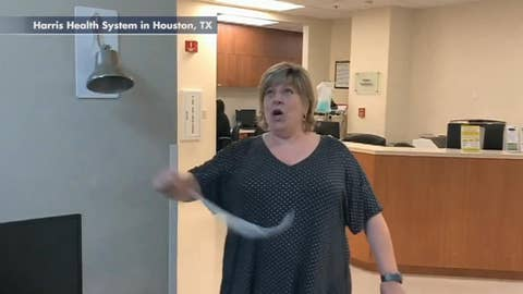 Excited patient breaks 'cancer free' bell