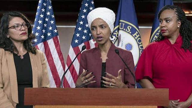 Progressive Democrat 'squad' fires back at Pelosi, Trump after House resolution vote