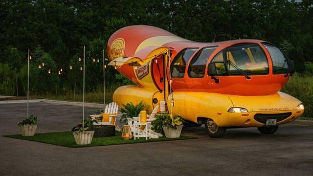 Oscar Mayer lists Wienermobile as Airbnb rental for National Hot Dog Day