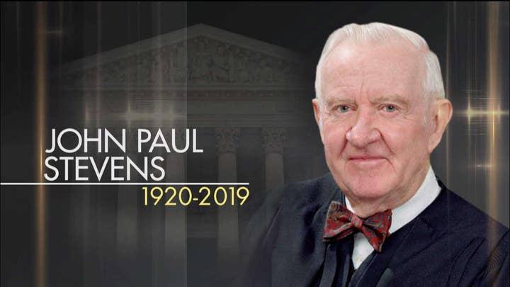 Retired Supreme Court Justice John Paul Stevens passes away at 99