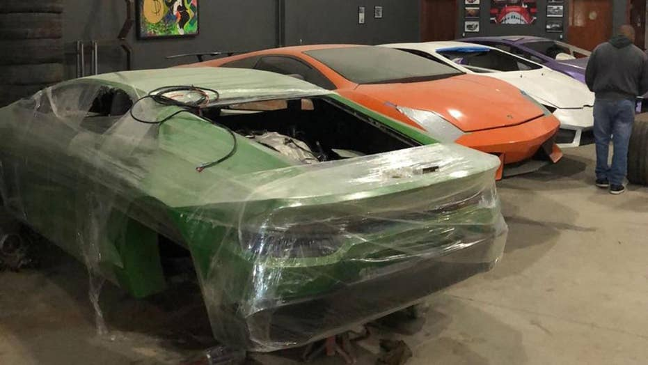 Cops shut down fake Ferrari and sham Lamborghini business in Brazil