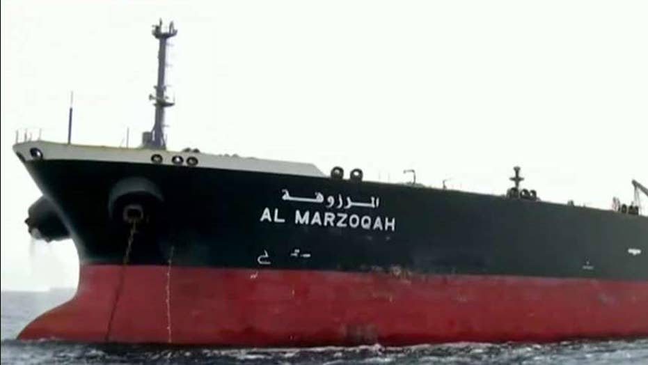 Iran claims they have control of UAE tanker that suffered technical malfunction in the Strait of Hormuz