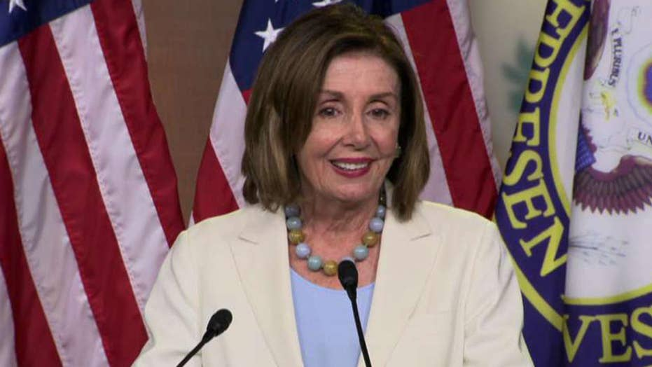 Nancy Pelosi says House resolution condemning President Trump was a 'gentle as it could be'