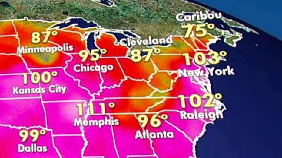 Forecasters warn of dangerous heat wave for Midwest, East Coast