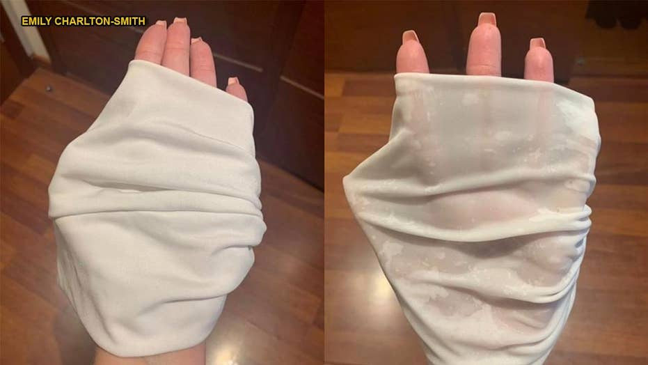 Shopper claims bikini turned semitransparent after becoming wet