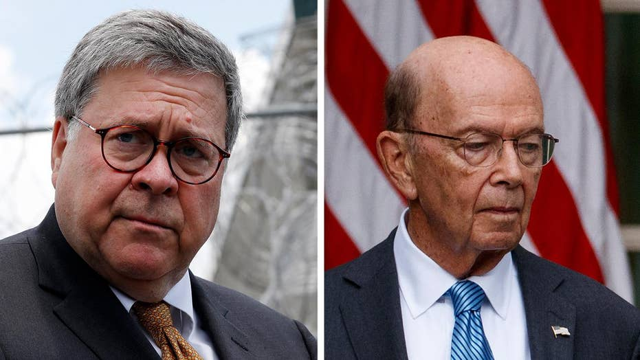 House votes to hold Attorney General William Barr, Secretary Wilbur Ross in contempt of Congress