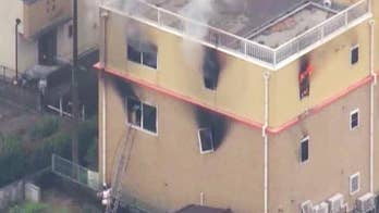At least 33 killed in arson attack on Japanese animation studio
