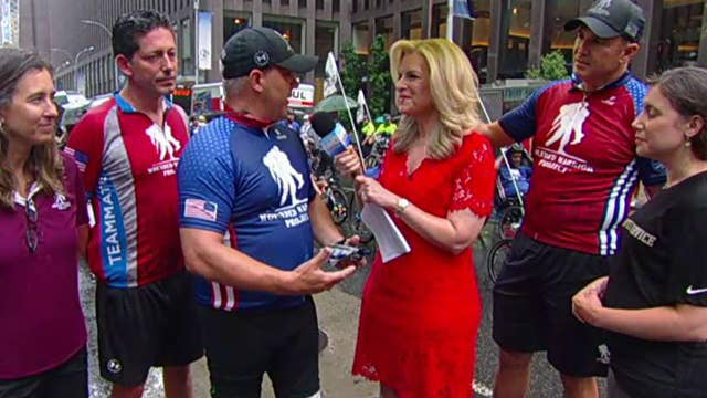 New York City Soldier Ride kicks off on 'Fox & Friends'
