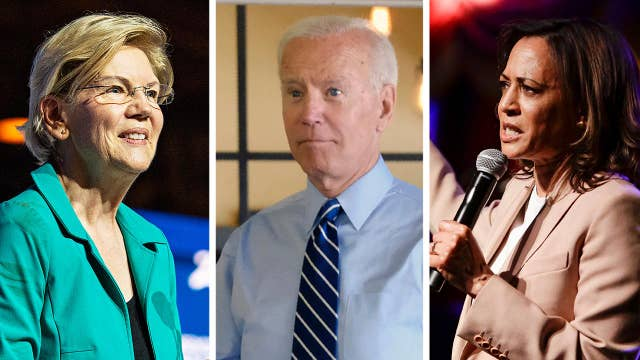 Democratic presidential candidates pounce on Trump rally chant