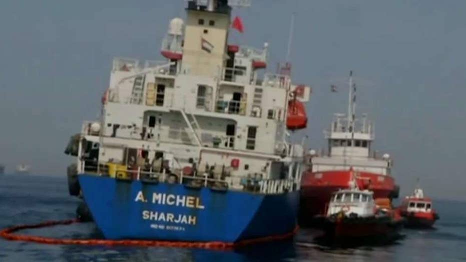 Iran announces it seized foreign oil tanker, claims crew members were smuggling oil