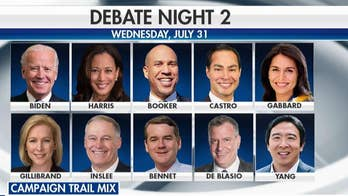 Stage set for second round of Democratic presidential debates
