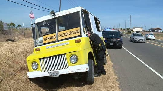 Armed man carjacks two vehicles, including an ice cream truck