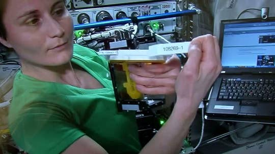 Astronauts aboard International Space Station to experiment with 3D printing of human organs