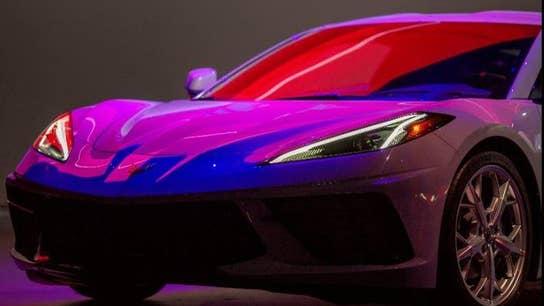 Astronauts Scott Kelly and Mae Jemison help unveil new 2020 Corvette Stingray