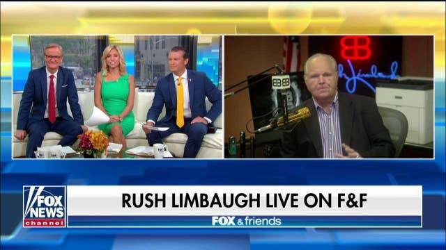 Limbaugh hopes radical House Democrats keep talking ahead of 2020 election