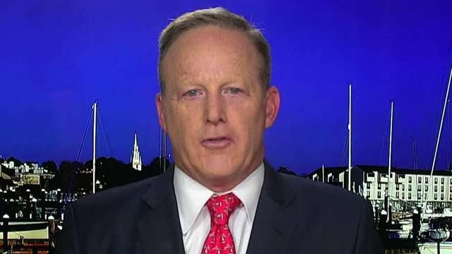 Sean Spicer says even if impeachment passes the House, it will not pass the Senate
