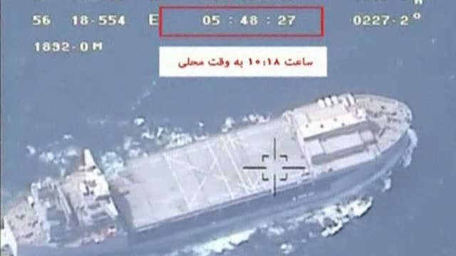 Iran's Revolutionary Guard claims to have seized British oil tanker