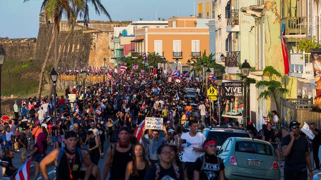 Puerto Rican governor defiant amid resignation demands