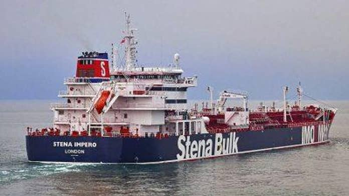 Britain warns of 'serious consequences' if Iran doesn't release seized tanker as regime insists it was 'rec...