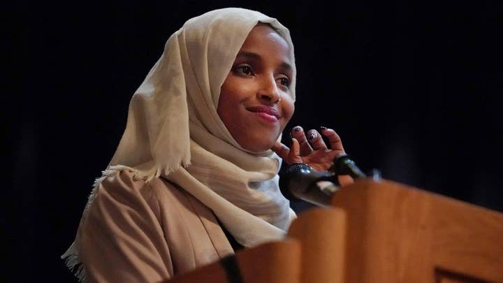 Rep. Ilhan Omar vows to 'be a nightmare' to President Trump