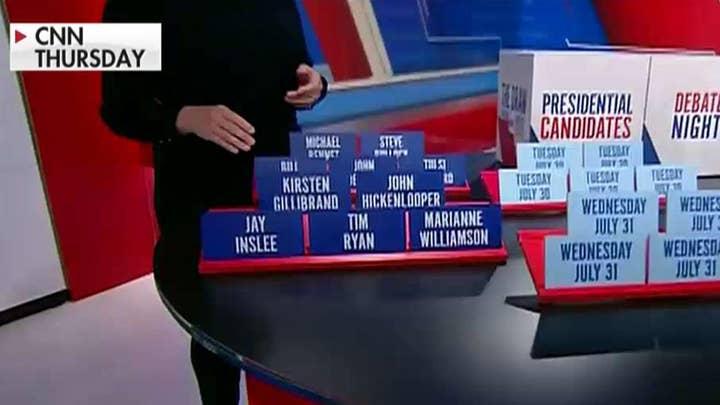 CNN mocked for Democratic debate lottery