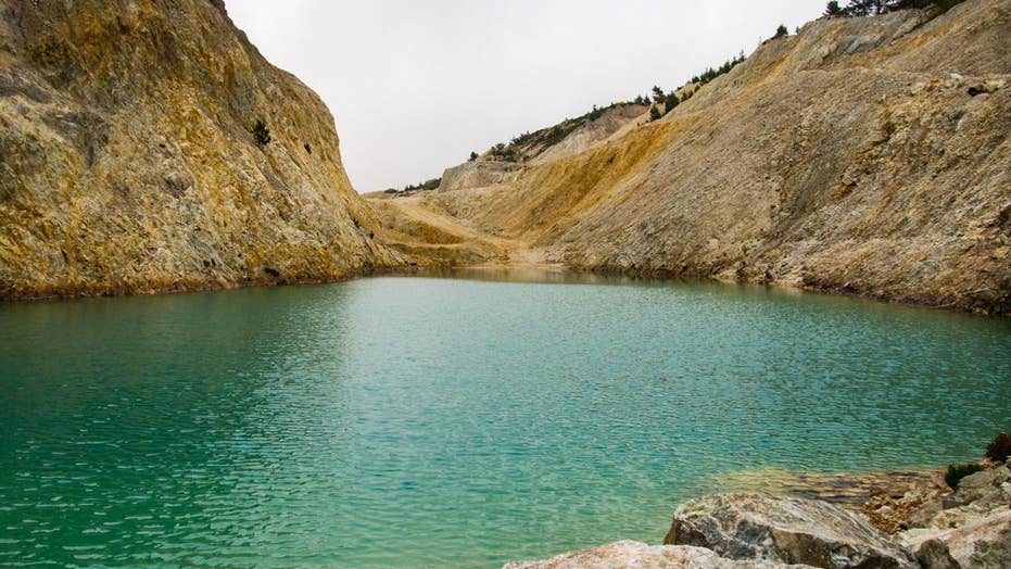Tourists reportedly hospitalized after swimming in Instagram-famous 'toxic dump' in Spain