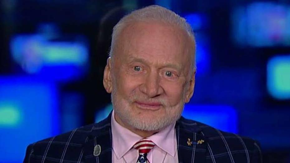 Buzz Aldrin says the US needs to progress further in space exploration