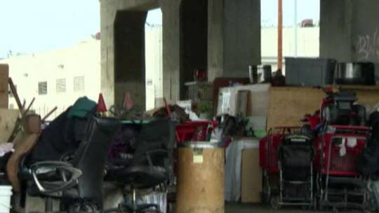 Los Angeles sued by homeless