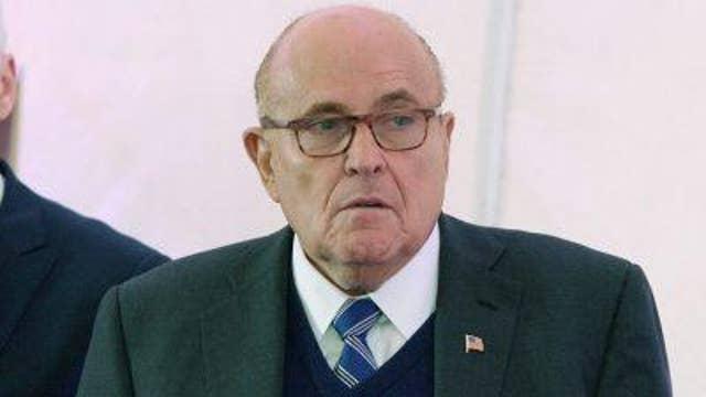 Rudy Giuliani on Iran seizing UK vessels