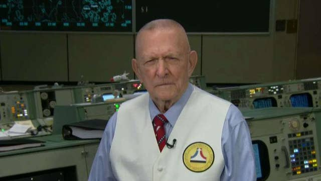 Apollo 11 flight director Gene Kranz on 50th anniversary of the first moon landing, current state of NASA