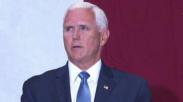 Vice President Mike Pence delivers remarks on 50th anniversary of Apollo 11 moon landing