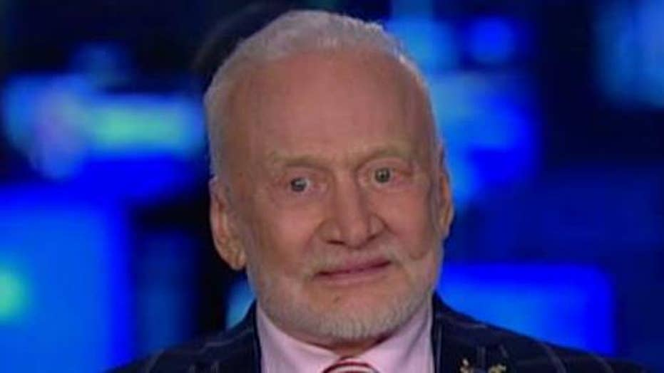 Buzz Aldrin on 50th anniversary of Apollo 11 Moon landing, efforts to go to Mars
