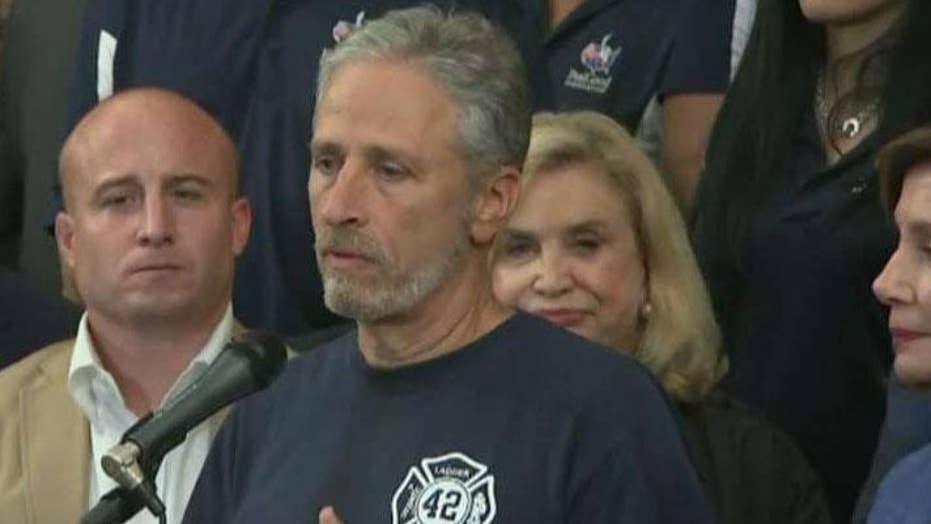 Jon Stewart and Rand Paul clash over 9/11 Victim Compensation Fund