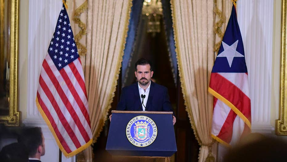 Puerto Rico governor Ricardo Rossello says he won't seek re-election