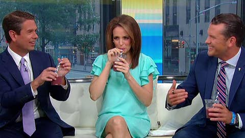 'Fox & Friends' tests out different kind of straws after Trump weighs in on debate