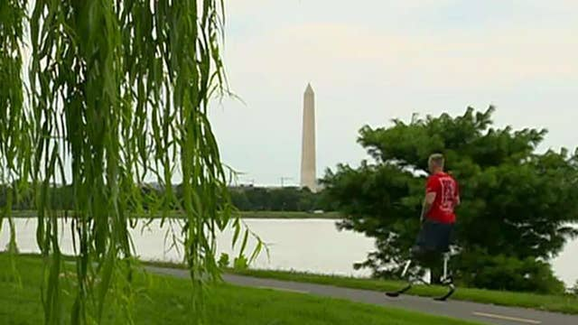 Double amputee Marine who ran 31 marathons in 31 days is now running for office
