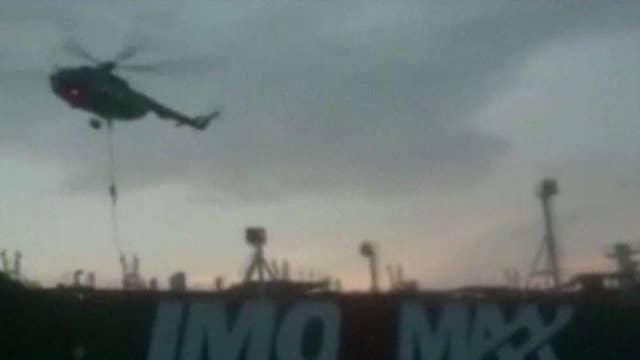 Iran releases video of British tanker seizure in Strait of Hormuz