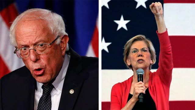 Bernie Sanders loses ground as Elizabeth Warren surges in New Hampshire