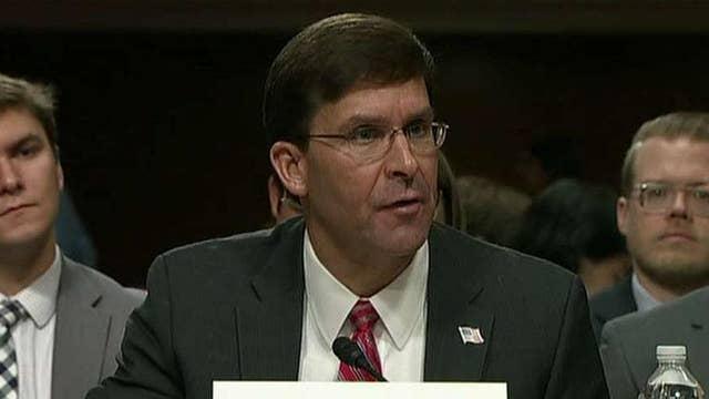 Acting Defense Secretary Mark Esper faces confirmation votes on the Hill