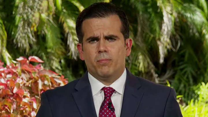 Puerto Rico's Ricardo Rossello addresses scandal, says he won't seek re-election but won't immediately resign