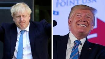 Trump praises Boris Johnson as the 'Britain Trump'