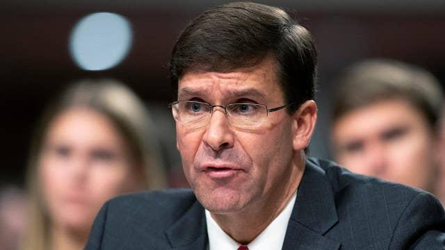 Senate set to confirm Mark Esper as defense secretary