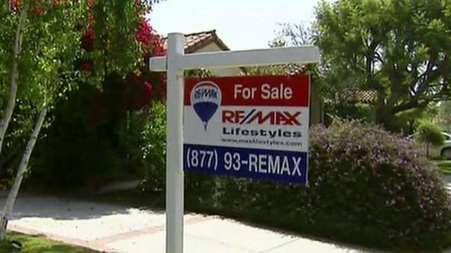 Prices for homes go up but sales go down