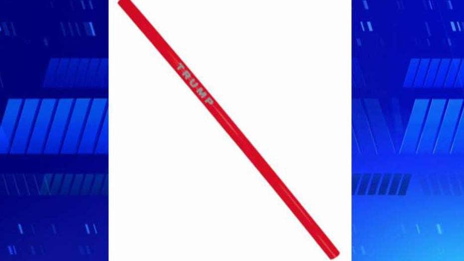 Gutfeld on Trump selling plastic straws