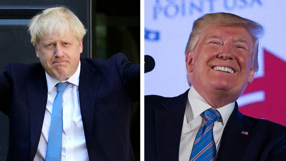 ترامپ ستایش Boris Johnson به عنوان 'Britump Trump'