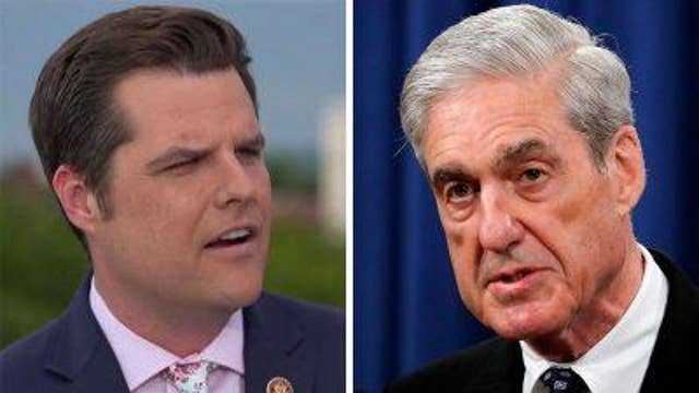 Matt Gaetz on lead up to Mueller hearings