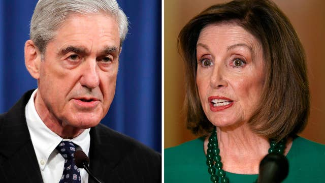 Pelosi sent out 6-page memo on how to frame Robert Mueller's hearing